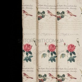 Штора Country Roses