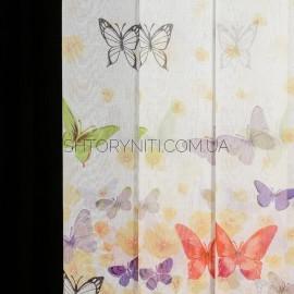 Тюль Butterflies len
