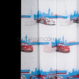 Тюль Cars Tutorial 1