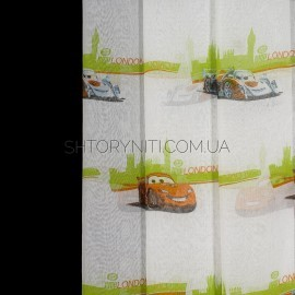 Тюль Cars Tutorial