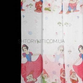 Тюль Snow White
