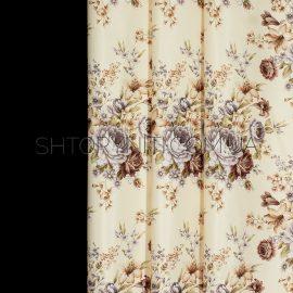 Штора блэкаут с цветами Anima 1