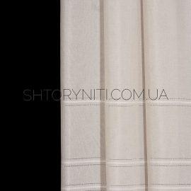 Штора мешковина с вышивкой Konsta 2