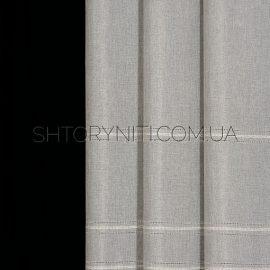Штора мешковина с вышивкой Konsta 7