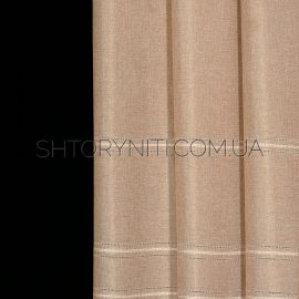 Штора мешковина с вышивкой Konsta 4