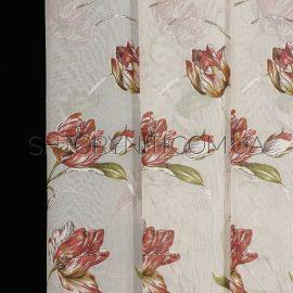 Тюль с цветами Carmes