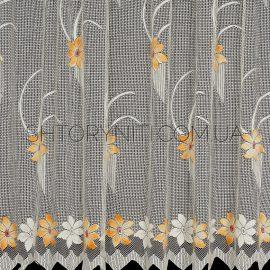 Короткая тюль с цветами Natans 4