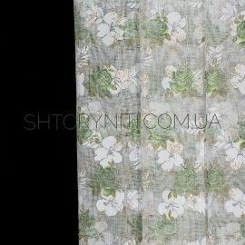 Тюль с цветами Milla 1