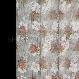 Тюль с цветами Milla 2