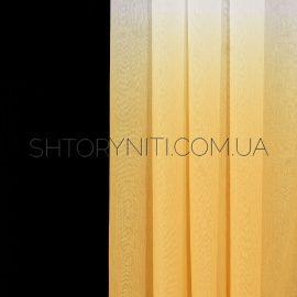 Тюль лен растяжка Gradient 17
