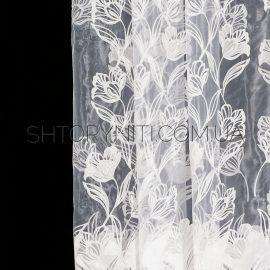 Тюль с цветами Marica
