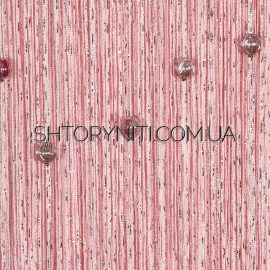 Шторы нити дождь со стеклярусом №5